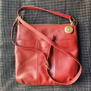 Leather crossbody bag by Tommy Hilfiger